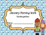 Kindergarten January Morning Work