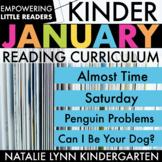 Kindergarten January Read Aloud Lessons & Activities | Empowering Little Readers