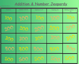 Kindergarten Jeopardy Addition & Numbers