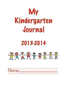 Kindergarten Writing Journal