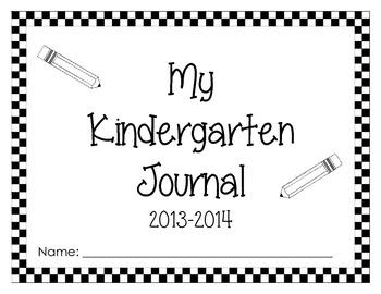 Kindergarten Journal Paper