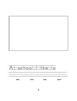 Kindergarten Journal Prompts