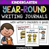 Kindergarten Journals | Writer's Checklist and Goals