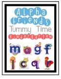 Kindergarten Journey's Alpha friends-Tummy Time