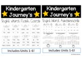 Kindergarten Journey's Sight Word Flash Cards and Assessments Bundle