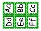 Kindergarten Journeys 2014 High Frequency Word Wall Cards (Green Polka Dot)