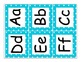 Kindergarten Journeys 2014 High Frequency Word Wall Cards (Turquoise)