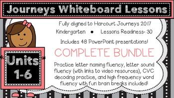 Kindergarten Journeys 2017 Complete Bundle