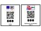 Kindergarten Journeys 2017 Unit 2 Sight Words QR Codes - Ink Saving Option