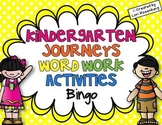 Sight Words Bingo {For Use With Kindergarten Journeys}