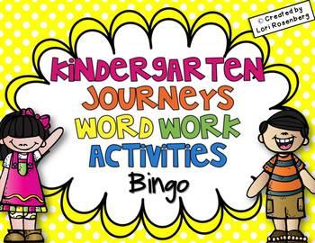Sight Words Bingo {Compatible With Kindergarten Journeys}