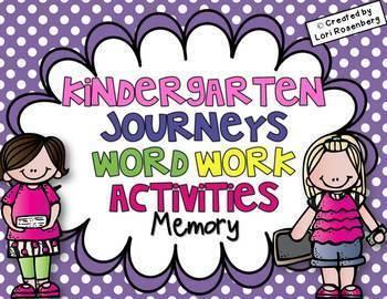 Sight Word Games Bundle {Compatible With Kindergarten Journeys}