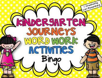 Sight Word Games Bundle {For Use With Kindergarten Journeys}