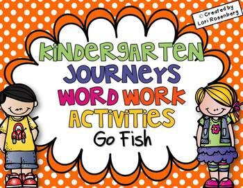 Sight Words Go Fish {Compatible With Kindergarten Journeys}