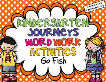 Sight Words Go Fish {For Use With Kindergarten Journeys}