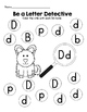 Kindergarten Journeys Lesson 20 RTI Letter and Sight Word