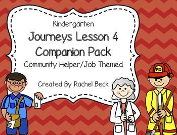 Kindergarten Journeys Lesson 4 Companion Pack