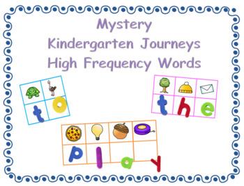 Kindergarten Journeys Secret High Frequency Words