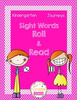 Kindergarten Journeys Sight Words Roll and Read