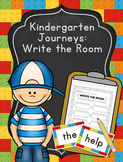 Kindergarten Journeys Sight Words Write the Room Center