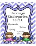 Kindergarten Journeys Unit 1