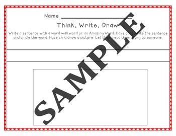 Kindergarten Journeys, Sample of Spelling Vocabulary Center Activity Bundle