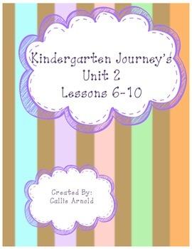 Kindergarten Journey's Unit 2