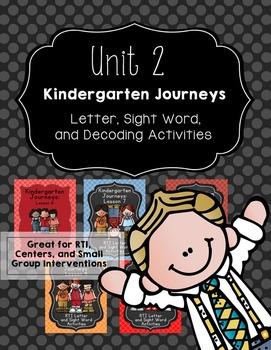 Kindergarten Journeys Unit 2: RTI Letter, Sight Word, and