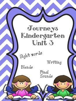 Kindergarten Journeys Unit 3