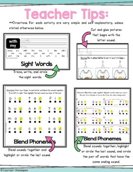 Kindergarten Journeys Unit 3 Weekly Skills Flipbooks