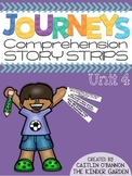 Kindergarten Journeys Unit 4 Reading Comprehension Story Strips