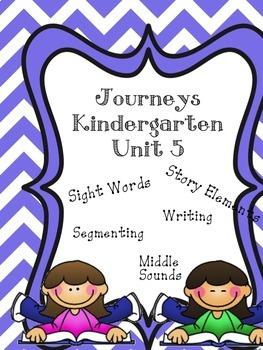 Kindergarten Journey's Unit 5