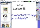 Kindergarten Journeys Unit 6 Lesson 28 Flipchart