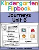 Kindergarten Journeys Unit 6 Weekly Skills Flipbooks