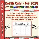 Kindergarten Kalendar Refills for 2019