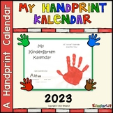Kindergarten Kalendars Handprint Collection for 2020