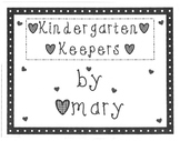 Kindergarten Keepers Complete Collection (Volumes One thro