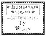Kindergarten Keepers Volume Two (Conferences)