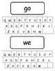 Kindergarten Keyboard Sight Words