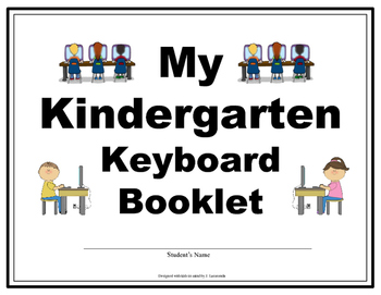 Kindergarten Keyboarding Booklet