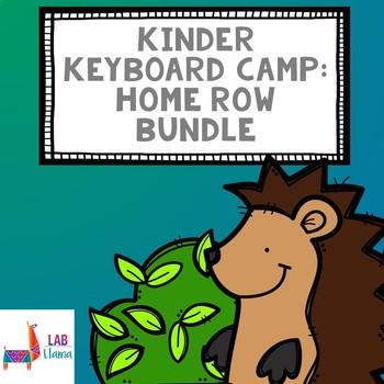 Kinder Keyboard Camp: Home Row Lesson Bundle
