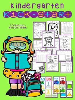 Kindergarten Kick-start Summer Review
