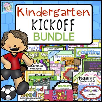 Kindergarten Kickoff BUNDLE for Back to School