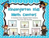 Kindergarten Math Centers (can be used with any theme) - Common Core Aligned