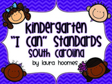 Kindergarten Kids Standards SOUTH CAROLINA