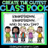 Kindergarten Kindergarten Who Do You See Class Writing Book - Pre-K, K, 1st