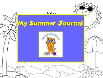 Kittygarten Kinect - No Prep - My Summer Journal