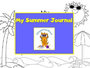 Kittygarten Kinect - No Prep - My Summer Journal