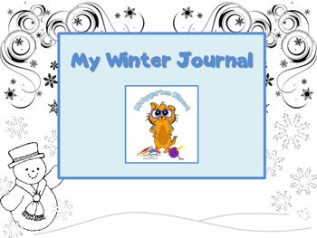 Kittygarten Kinect - No Prep - My Winter Journal