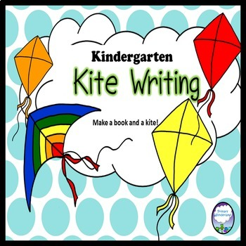 Kite Writing Book and Craft Kindergarten, 1st grade
